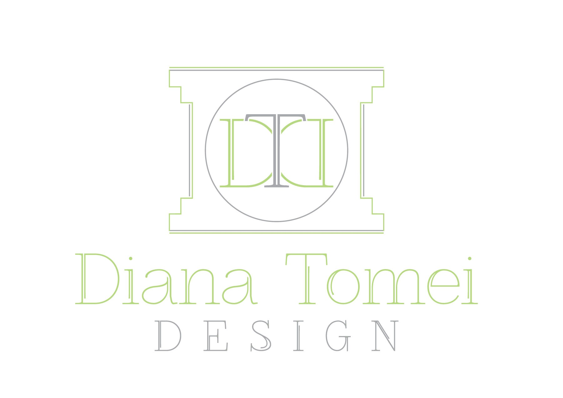 Create a classic sophisticated logo for Southern California interior designer
