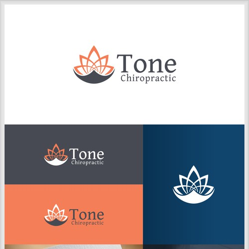 Logo concept for Tone Chiropractic