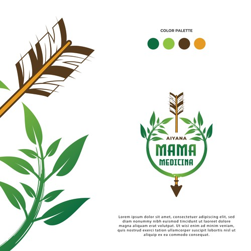 Mama Medicina Logo Design