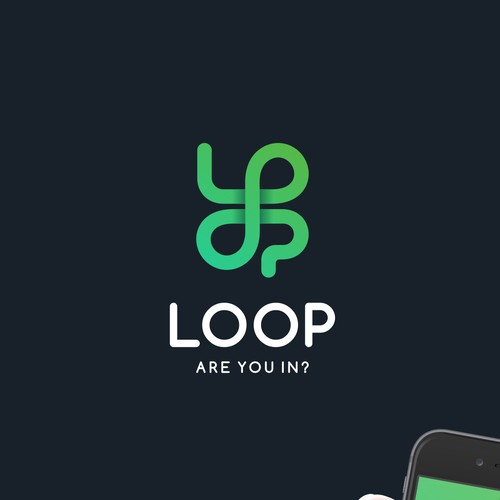 Fun Logo for App: Loop - Are you In?