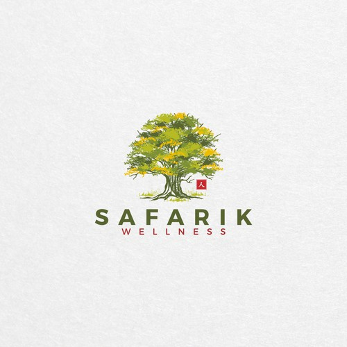 Bold logo for Safarik wellness