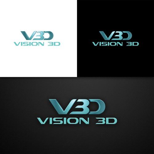 Vision 3D logo