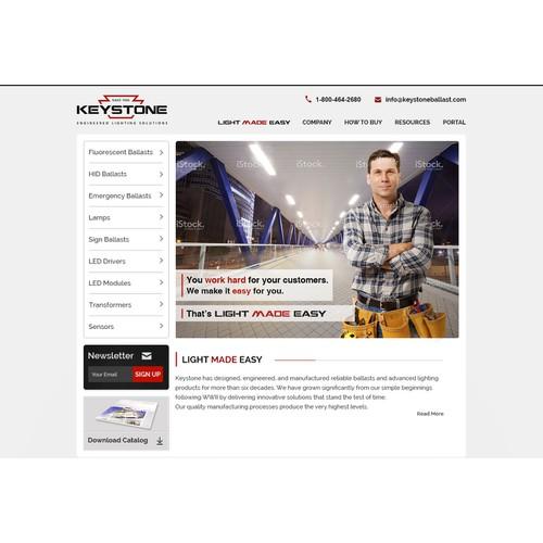 Keystone Homepage Banner