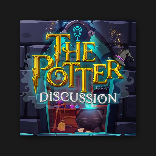 The Potter Discussion Potcast Cover