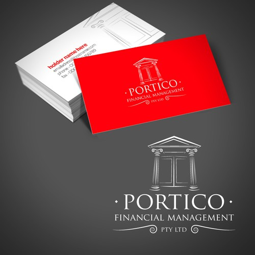 Help Portico Financial Management Pty Ltd with a new logo