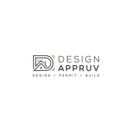 Logo concept for 'Design Appruv'