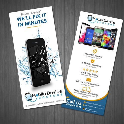 Flyer for Mobile Device