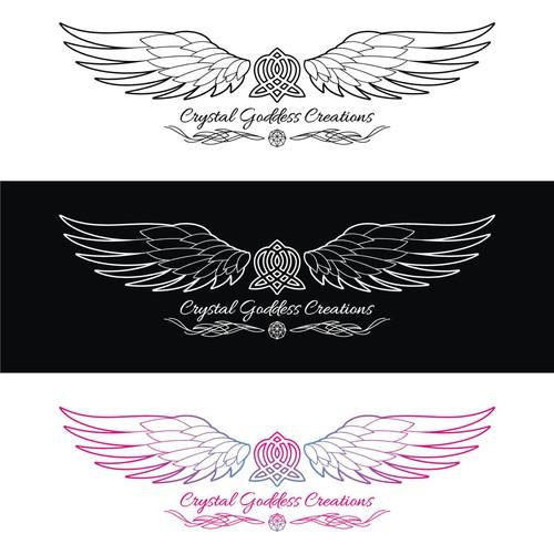 logo for Crystal Goddess Creations