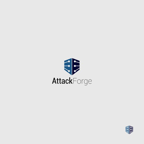 AttackForge logo concept