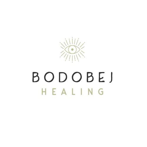 Bodobej Healing logo design