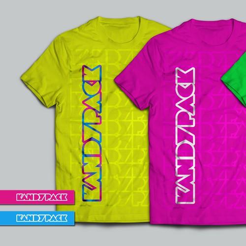 Logo for electronic dance music, rave fashion brand