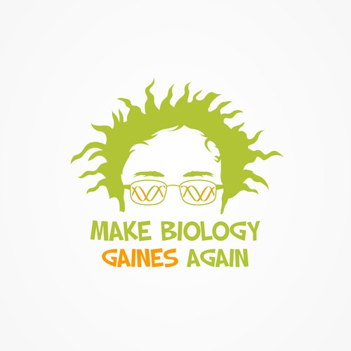 Make Biology Gaines Again logo