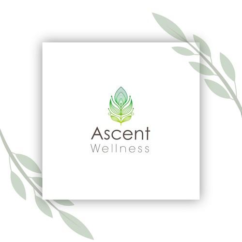 logo concept for wellness center