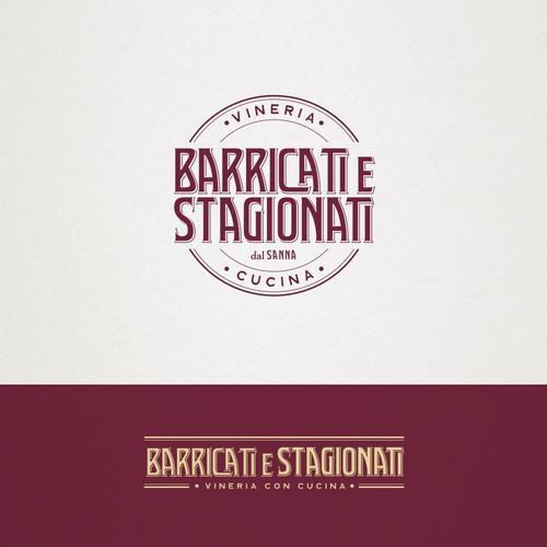 Barricati e Stagionati - logo design