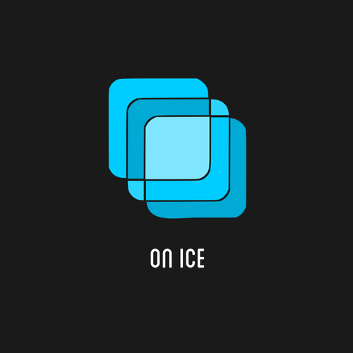 Create a modern image for On Ice