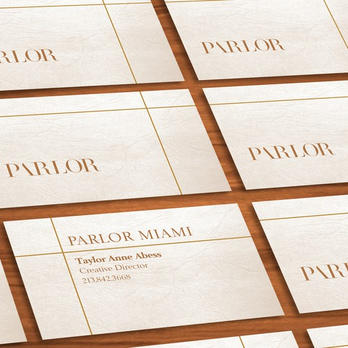 Bussiness Card for PARLOR MIAMI
