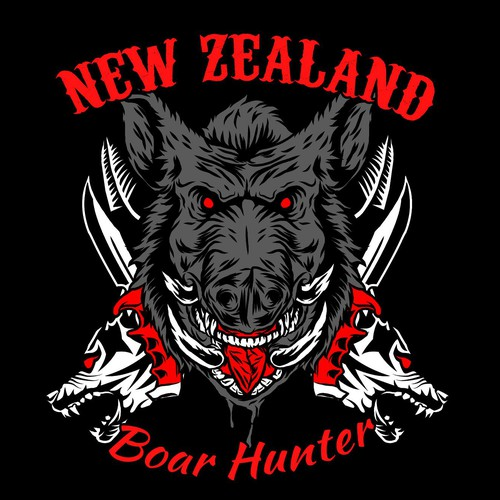 BOAR HUNTING T-SHIRT WANTED