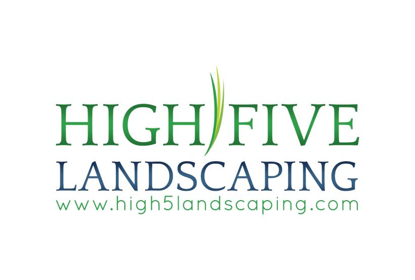High 5 Landscaping needs a new logo
