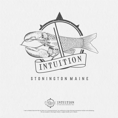 Lobster Boat Logo Stonington Maine