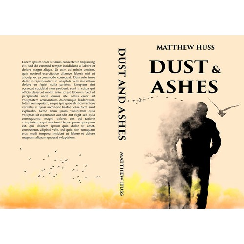 "Book cover for book ""Dust and Ashes"""