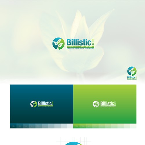 Eco-friendly billistic.com needs home-run logo.