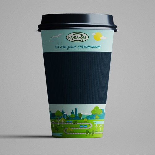 Coffee2Go porcelain mug - For the love of the environment