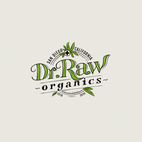 Organic cannabis products logo