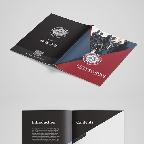 Service Presentation Booklet Design