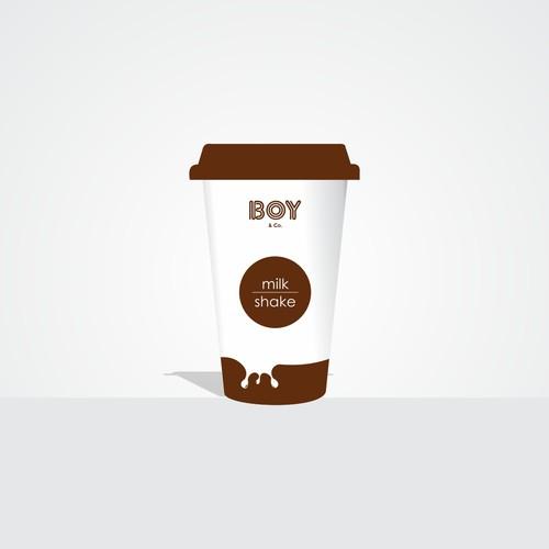Help us create one of a kind packaging for new milkshake bar, BOY & Co.