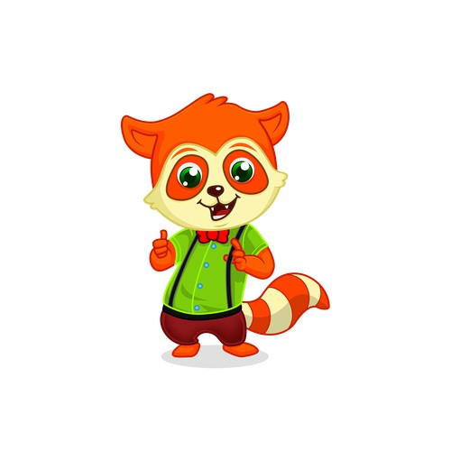 Educational Game Spunky Character