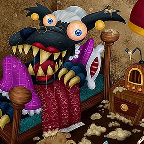 ilustração para livo infantil