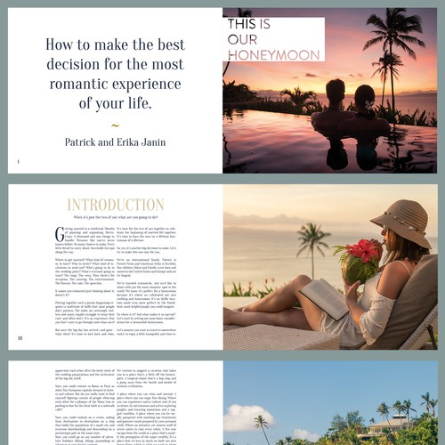 Honeymoon Dream Book