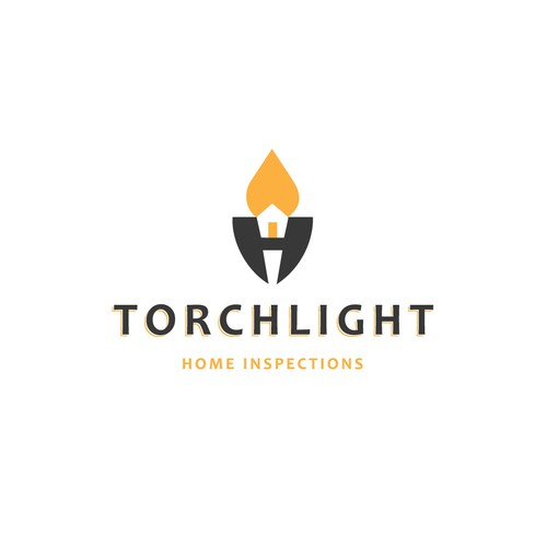TORCHLIGHT - Home Inspections - Logo Design