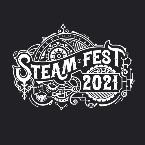 STEAM Fest 2021 T-shirt design