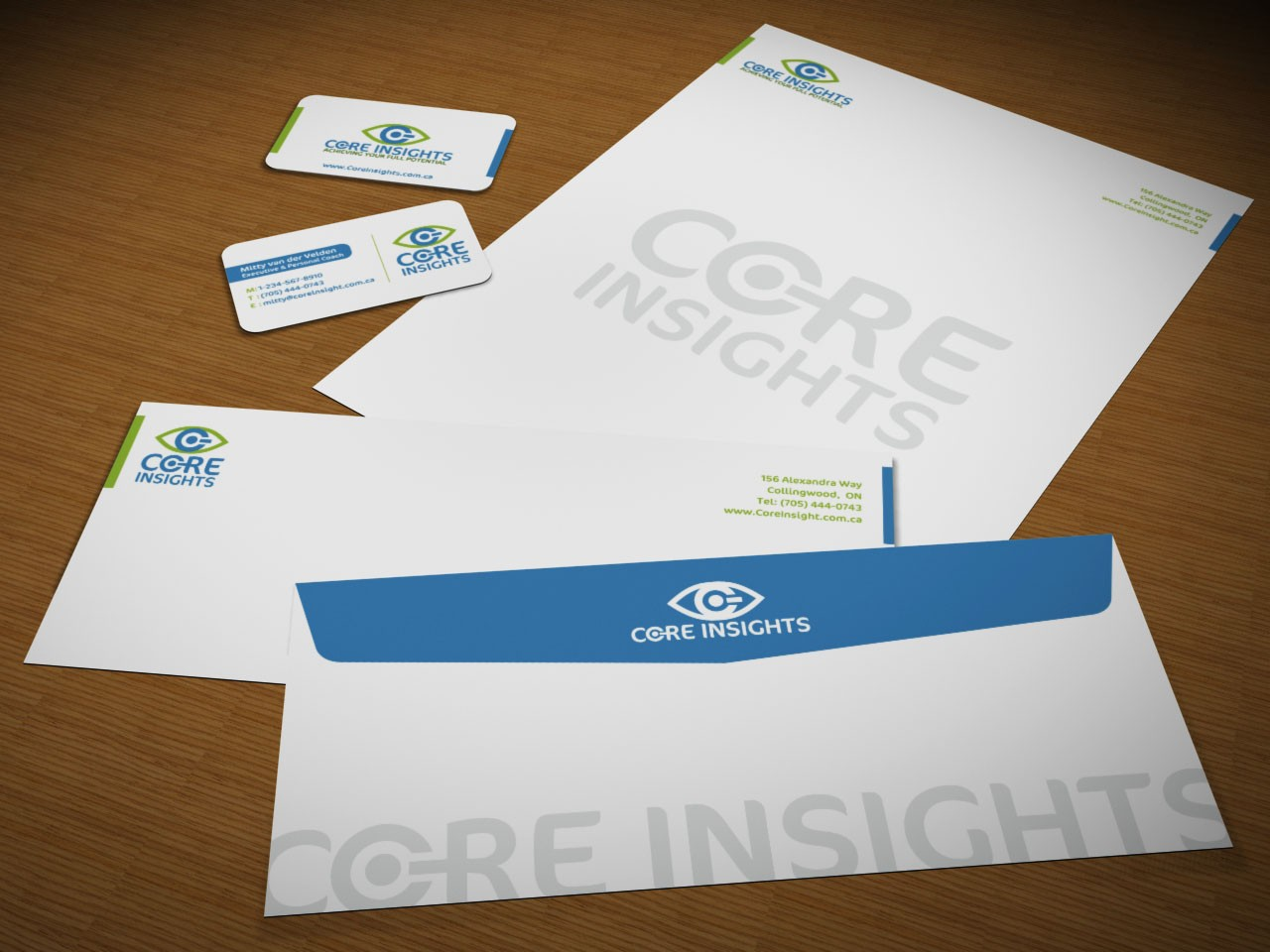 Core Insights needs a new stationery