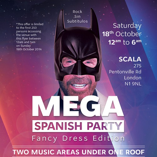 Mega Spanish Party Poster