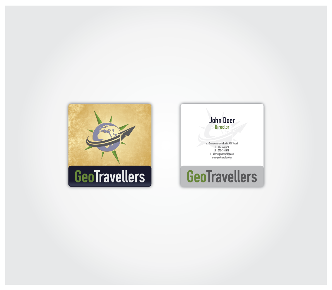 Create the next logo for www.GeoTravellers.com