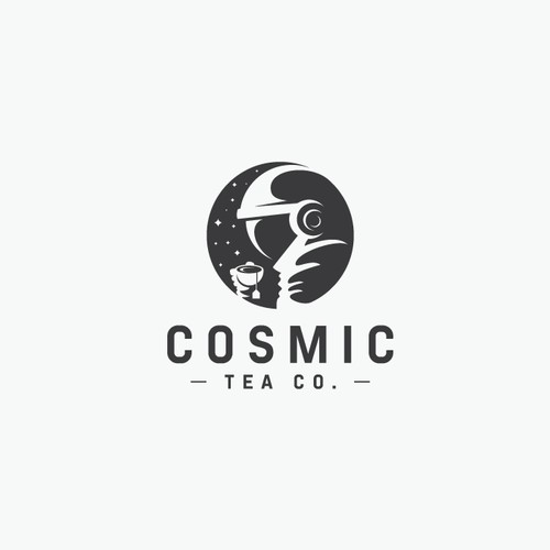 Cosmic Tea Co. Logo Design