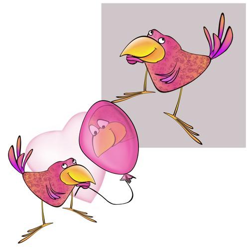 Strange Bird - character design