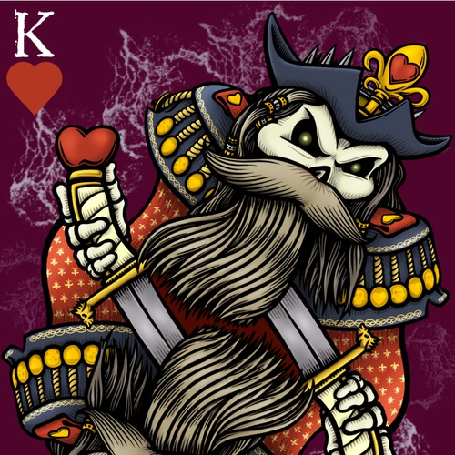 Pirate King of Hearts