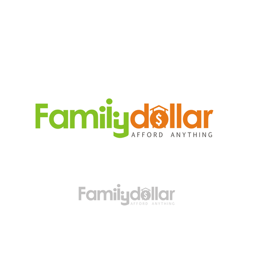 "Create a logo for ""Family Dollar"""