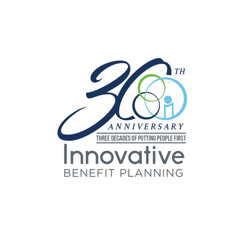 Anniversary Logo for Innovative Benefit Planning