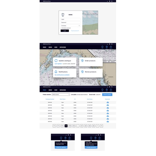 WENC - Nautical Dashboard