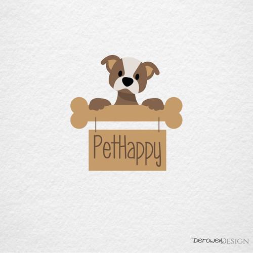 Cute puppy for online pet shop.