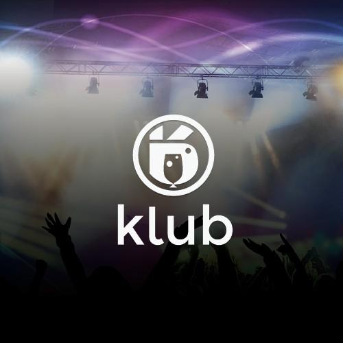 unique logo for KLUB