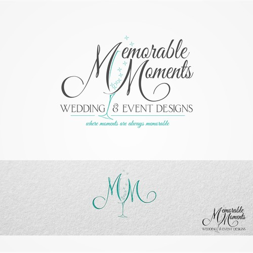 Logo for wedding events