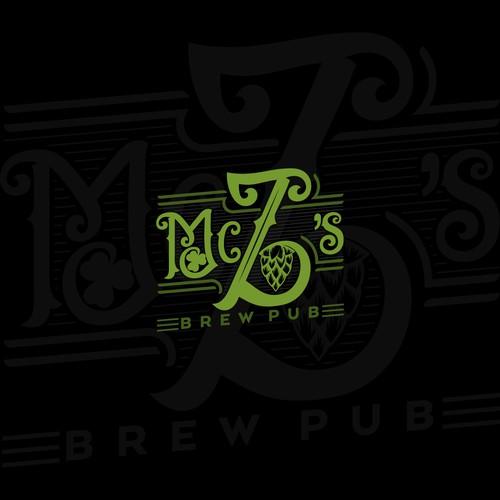 Brew pub logo