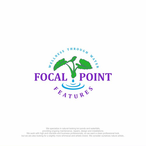 Focal Point Features logo design