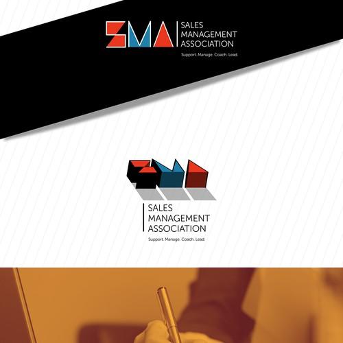 Logo for sales management association