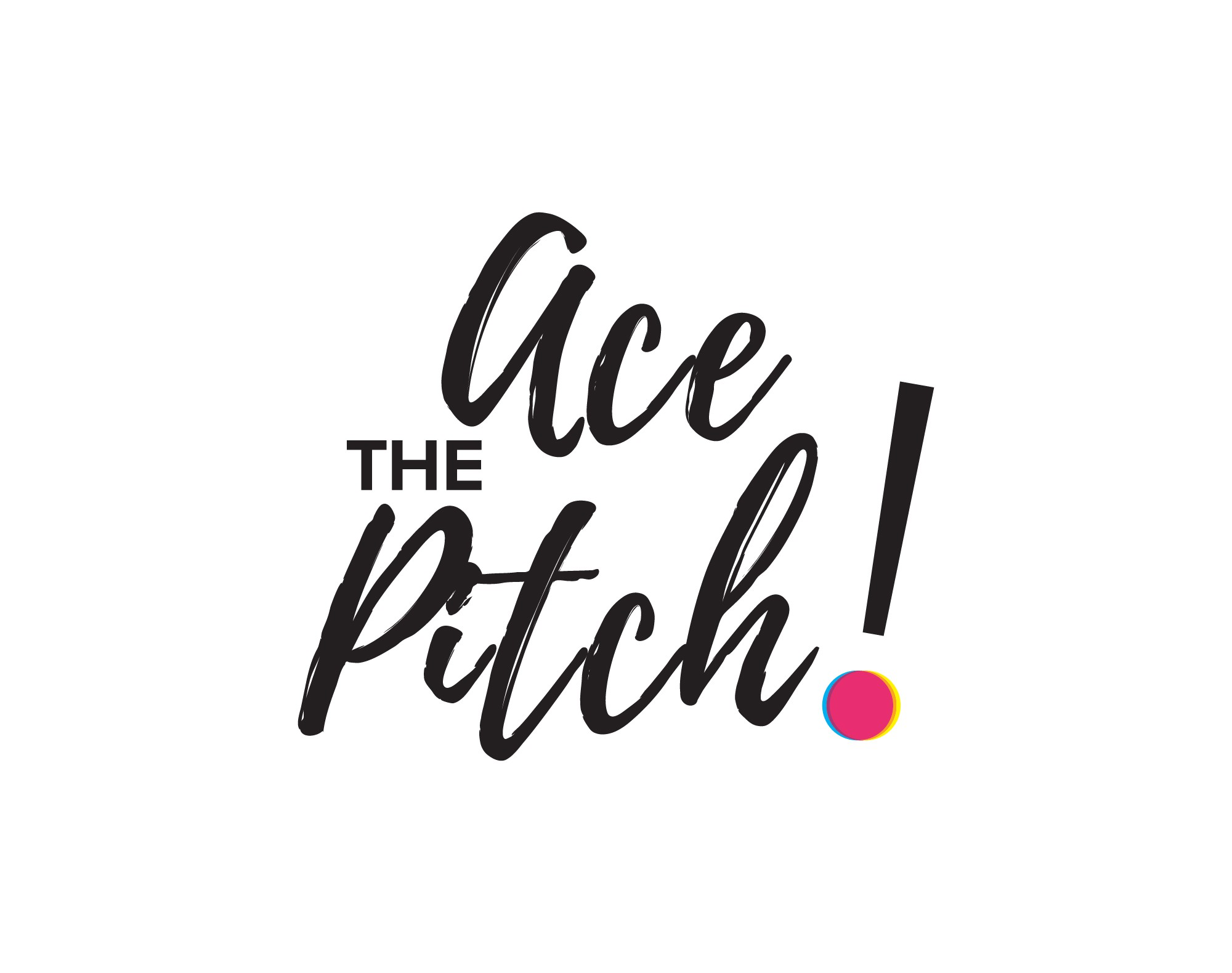 """Create New """"Ace the Pitch"""" Course Logo"""